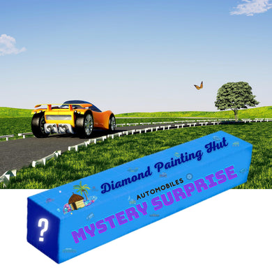 Automobiles Mystery Surprise  Diamond Painting
