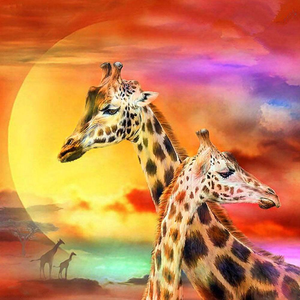 Beautiful Giraffes Diamond Painting