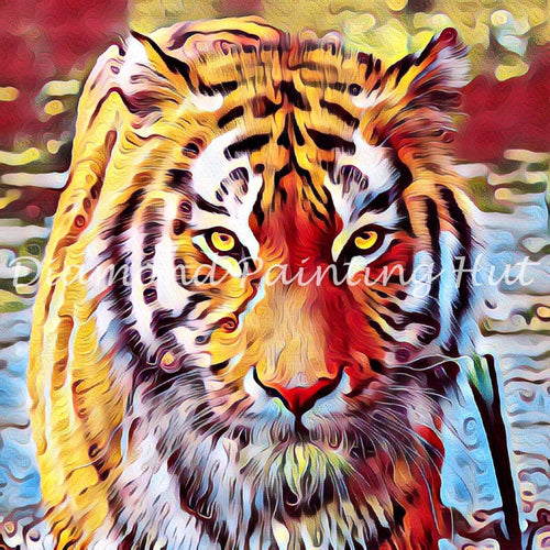 Beautiful Tiger Diamond Painting
