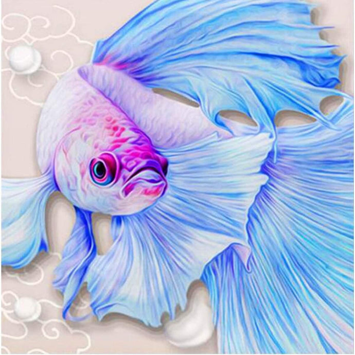 Betta Fish Diamond Painting