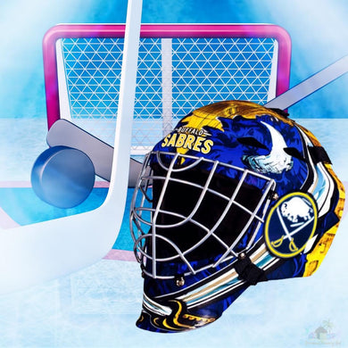 Buffalo Sabres NHL Hockey Net & Mask Diamond Painting