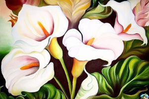 Calla Lilly Painting Diamond Painting