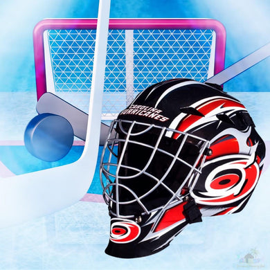 Carolina Hurricanes NHL Hockey Net & Mask Diamond Painting