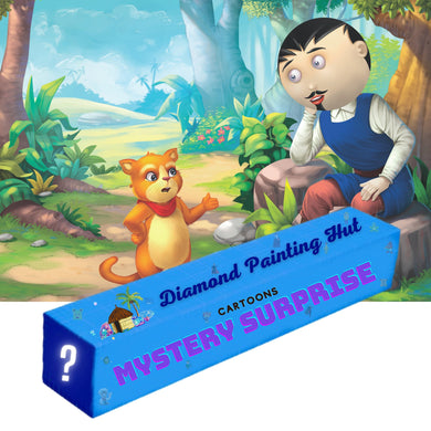 Cartoons Mystery Surprise  Diamond Painting