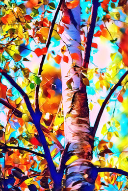 Colorful Fall Tree Diamond Painting