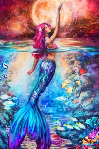 Colorful Mermaid Diamond Painting