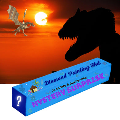 Dragons & Dinosaurs Mystery Surprise  Diamond Painting