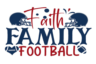 Faith Family Football Diamond Painting