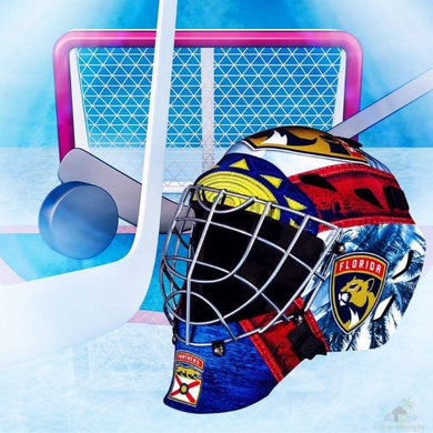 Florida Panthers NHL Hockey Net & Mask Diamond Painting
