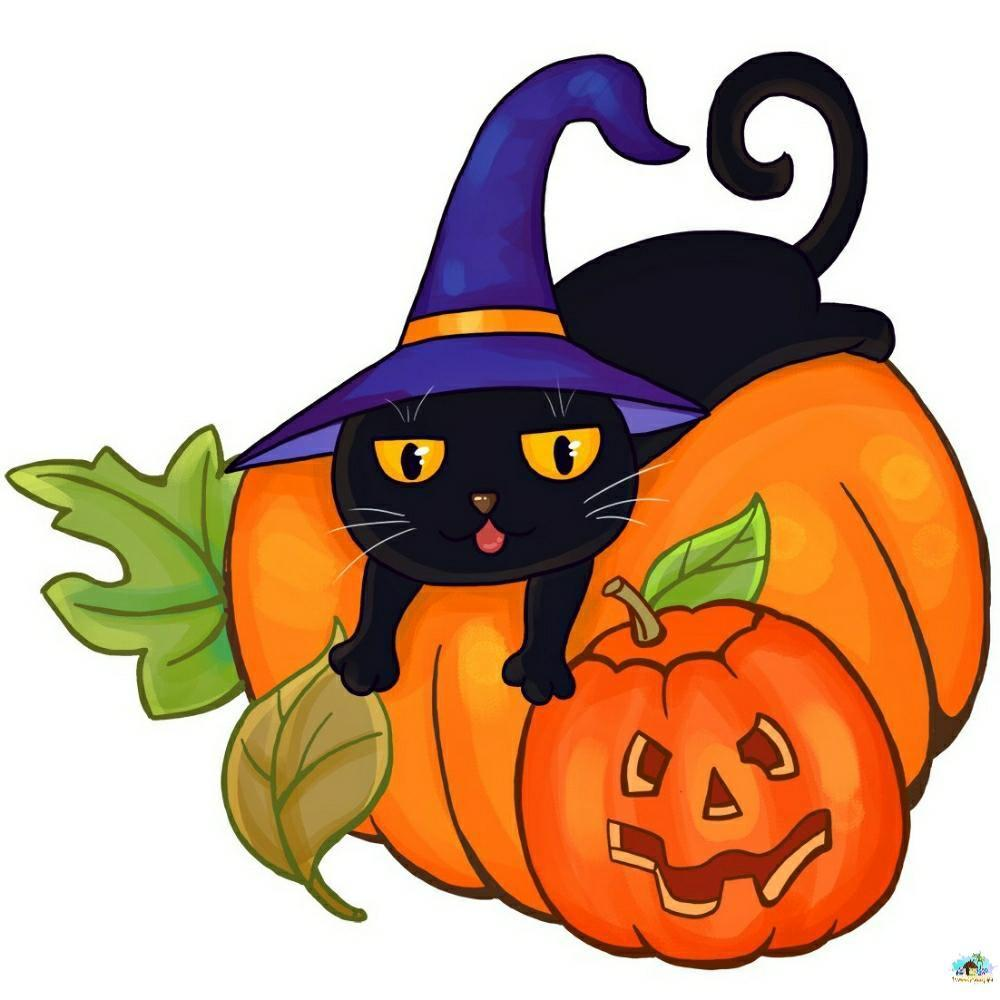 Halloween Cat Diamond Painting