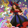 Load image into Gallery viewer, Halloween Fairy Diamond Painting