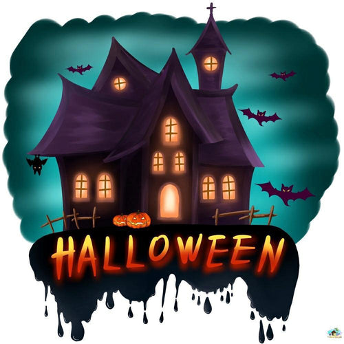 Halloween House Diamond Painting