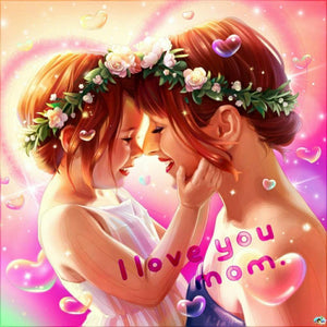 I Love You Mom Diamond Painting