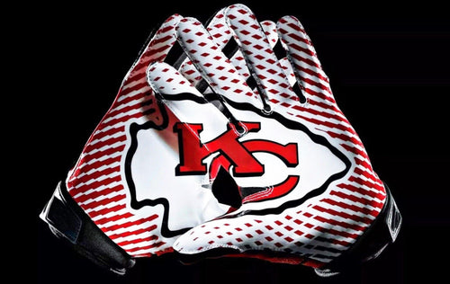 Kansas City Chiefs Football Gloves Diamond Painting