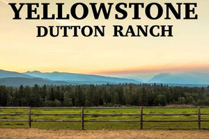 Landscape Yellowstone Dutton Ranch View Diamond Painting