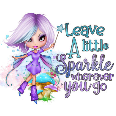 Leave A Little Of Sparkle Wherever You Go Diamond Painting