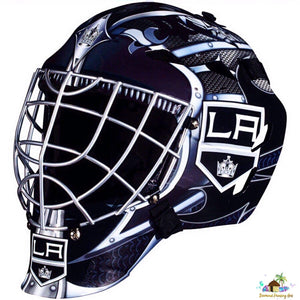 Los Angeles Kings NHL Goalie Mask Diamond Painting