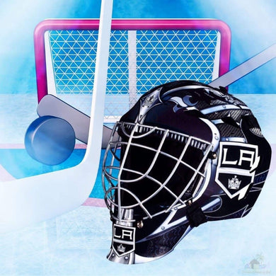 Los Angeles Kings NHL Hockey Net & Mask Diamond Painting
