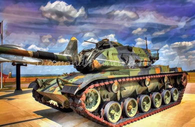 Military Tank Diamond Painting