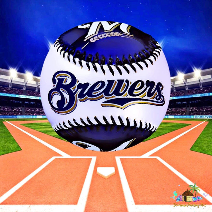 Milwaukee Brewers Diamond Painting