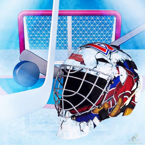 Montreal Canadiens NHL Hockey Net & Mask Diamond Painting