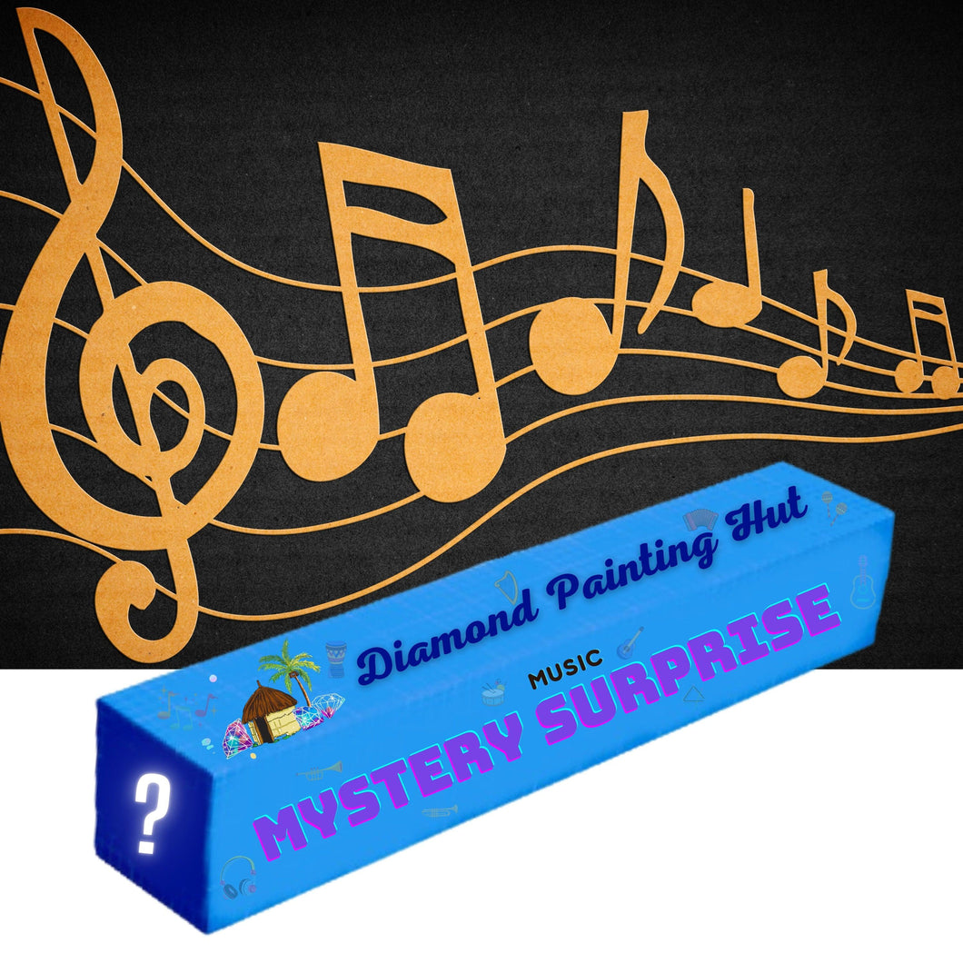 Music Mystery Surprise  Diamond Painting