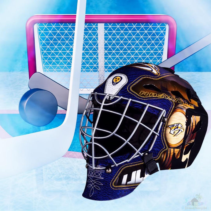 Nashville Predators NHL Hockey Net & Mask Diamond Painting