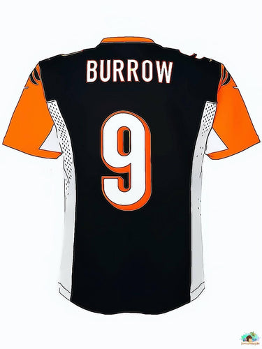 NFL Jersey Burrow 9 Diamond Painting