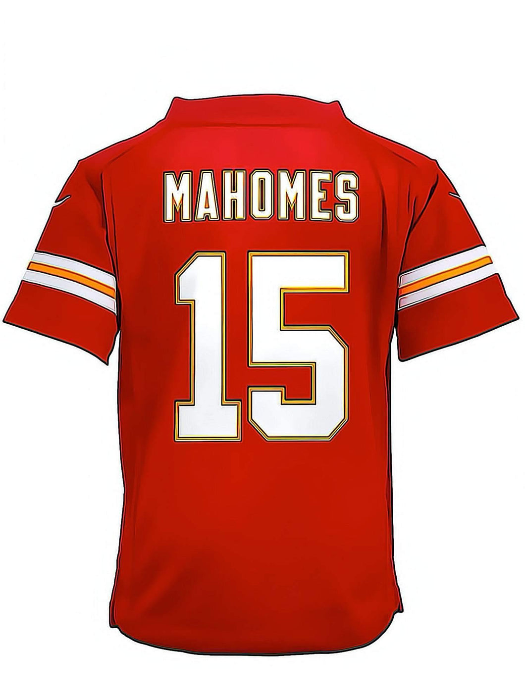 NFL Jersey Mahomes 15 Diamond Painting