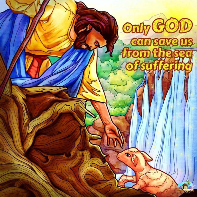 Only God Can Save Us Diamond Painting