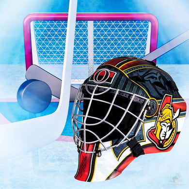 Ottawa Senators NHL Hockey Net & Mask Diamond Painting
