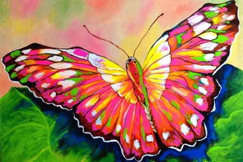 Painted Butterfly Diamond Painting