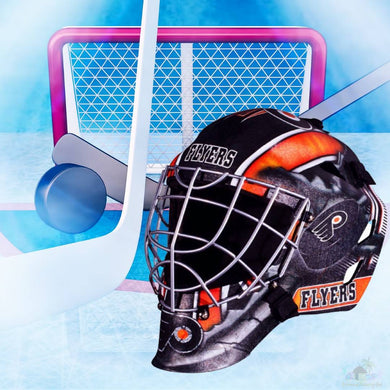 Philadelphia Flyers NHL Hockey Net & Mask Diamond Painting