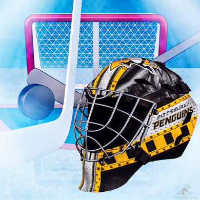 Pittsburgh Penguins NHL Hockey Net & Mask Diamond Painting