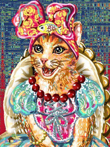 Princess Cat Diamond Painting