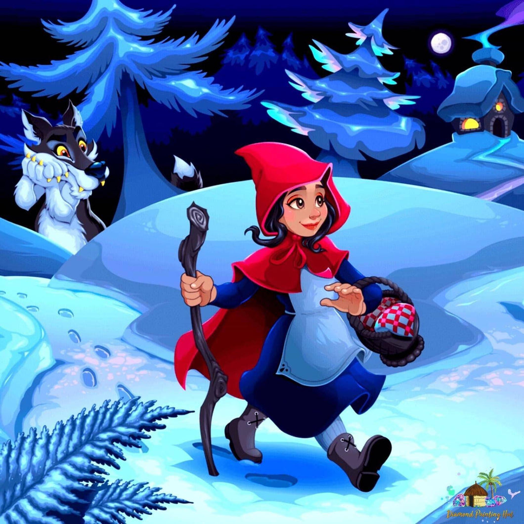 Red Riding Hood Diamond Painting