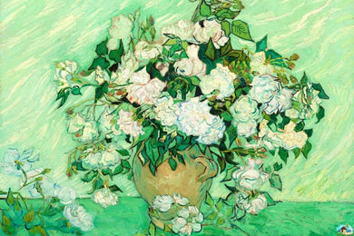Roses By Vincent Van Gogh Diamond Painting