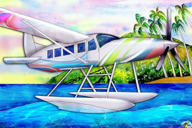 Seaplane Aircraft Diamond Painting
