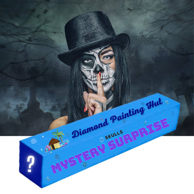 Skull Mystery Surprise  Diamond Painting