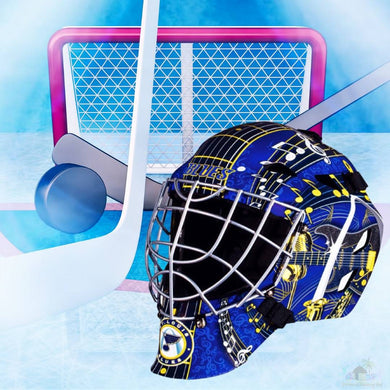 St Louis Blues NHL Hockey Net & Mask Diamond Painting