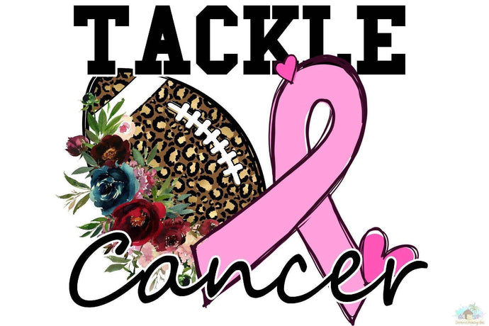 Tackle Cancer Diamond Painting