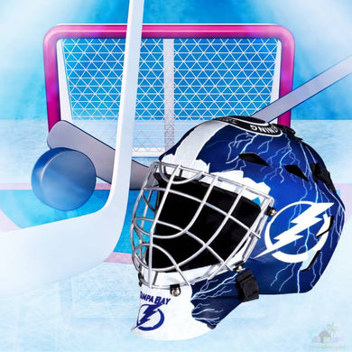 Tampa Bay Lightning NHL Hockey Net & Mask Diamond Painting