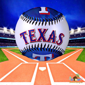 Texas Rangers MLB Diamond Painting