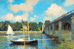 The Bridge at Argenteuil by Claude Monet Diamond Painting