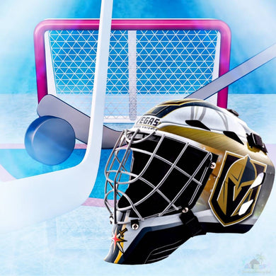 Vegas Golden Knights NHL Hockey Net & Mask Diamond Painting