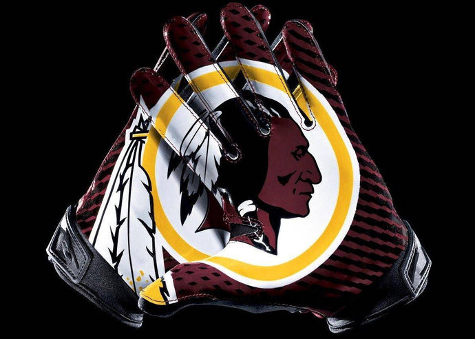 Washington Redskins Football Gloves Diamond Painting