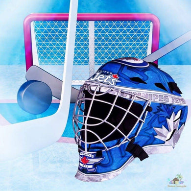 Winnipeg Jets NHL Hockey Net & Mask Diamond Painting