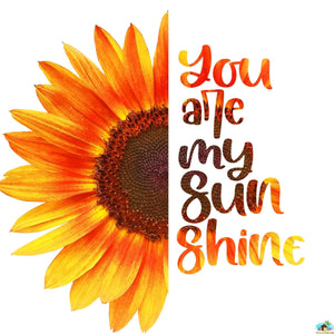 You Are My Sunshine Sunflower Diamond Painting