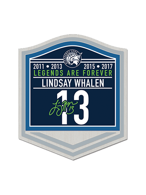 Minnesota Lynx Lindsay Whalen Retirement Lapel Pin