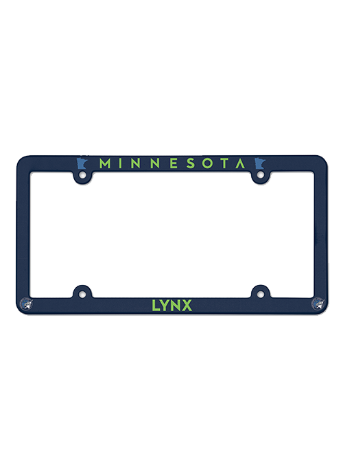 Minnesota Lynx License Plate Frame
